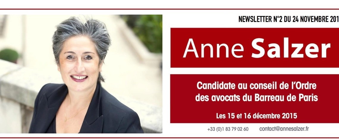Anne Salzer - Newsletter-24-11-2014
